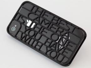 """""""Best Camera…"""" iphone 4s case in Black Natural Versatile Plastic"""