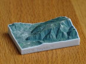 Aspen Mountain, Colorado, USA, 1:100000 in Full Color Sandstone
