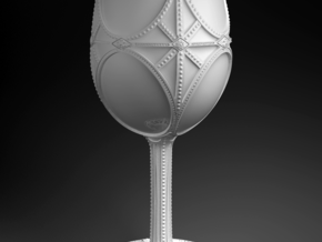 Gothic Goblet in White Natural Versatile Plastic