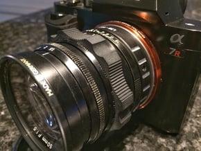 Voigtländer Nokton 50mm f1.5 Focus Ring (M39 LTM) in Black Natural Versatile Plastic