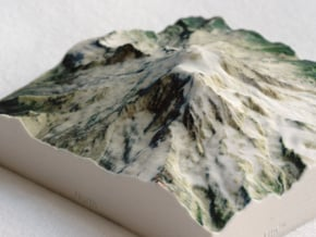 Mt. Rainier, Washington, USA, 1:100000 Explorer in Full Color Sandstone