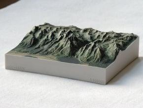 Grand Tetons, Wyoming, USA, 1:100000 Explorer in Full Color Sandstone