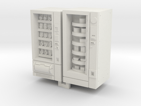 TT Gauge Snack And Food Vending Machine in White Natural Versatile Plastic
