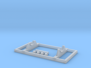 Rb302 Cart in 1/72 in Smooth Fine Detail Plastic