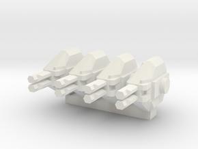 Colonial Marine APC 1 To 285 Extra Turrets V2 4 Tu in White Natural Versatile Plastic