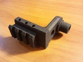 CZ 75 P-07 Duty Muzzle Adapter in Black Natural Versatile Plastic