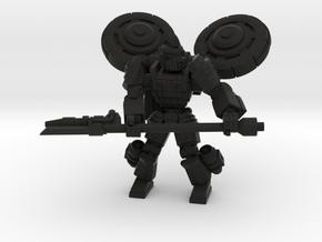 Gargoyle pose 5 in Black Natural Versatile Plastic