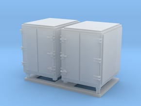 1:96 scale Ammo Box Large in Smooth Fine Detail Plastic