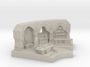 Mage Tower in Natural Sandstone