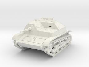 PV138 Polish TKS Tankette (1/48) in White Natural Versatile Plastic