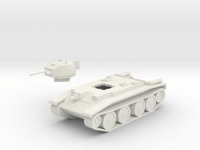 Polish 14TP Tank in White Natural Versatile Plastic