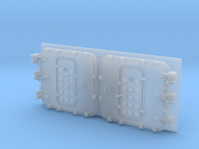 1/200 Burke Front Doors Closed in Smoothest Fine Detail Plastic
