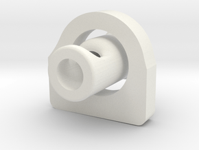 KR Hero - Replacement Kill Key and Spacer in White Natural Versatile Plastic