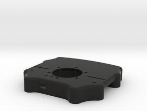 Button Enclosure - Style 2 - Mod 30, Mod 88, Sparc in Black Natural Versatile Plastic