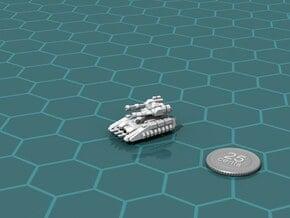 Buru Scout Tank in White Natural Versatile Plastic