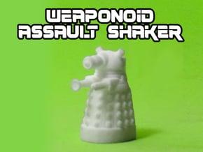 Assault Shaker Transforming Weaponoid Kit (5mm) in White Natural Versatile Plastic