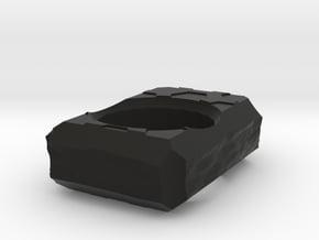TerrainHex Knuckle Duster in Black Natural Versatile Plastic
