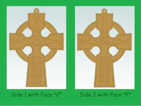 CCA Cross Collection - Model CF in Natural Bronze