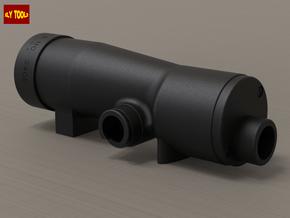 ESB M19 Scope Notch (Pro Version) - Base in Black Natural Versatile Plastic