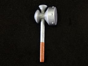 Megaton Hammer in Smooth Fine Detail Plastic