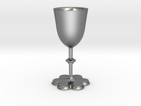 Kelch15 3dprint 002 in Polished Silver