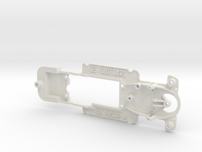 SCX StockCar - 3 hole mounting in White Natural Versatile Plastic