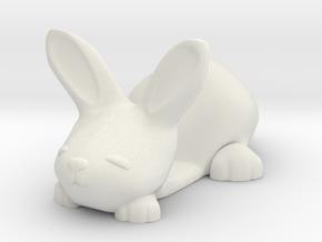 Smartphone holder - Tiny Bunny in White Natural Versatile Plastic