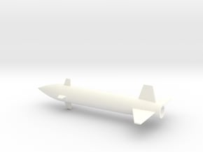 1/144 Scale Bell ASM-A-2 GAM-63 Rascal Missile in White Processed Versatile Plastic