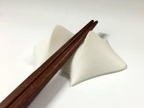 Chopsticks rest in White Processed Versatile Plastic