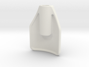 Ikea JULES Chair Handle replacement part in White Natural Versatile Plastic