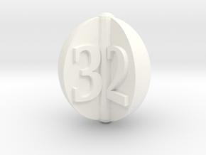 d3 apple slices in White Processed Versatile Plastic: Small