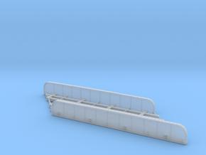 n-scale bridge Double Track Skewed Left in Smooth Fine Detail Plastic