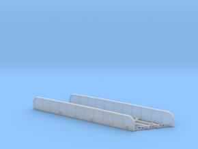 n-scale bridge mono track left in Smooth Fine Detail Plastic