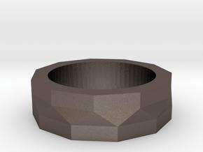 Eleven Twist in Polished Bronzed Silver Steel: 4.5 / 47.75