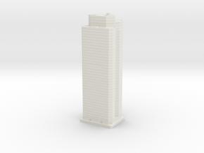 PNC Building (1:2000) in White Natural Versatile Plastic