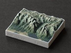 Grand Tetons, Wyoming, USA, 1:250000 Explorer in Full Color Sandstone