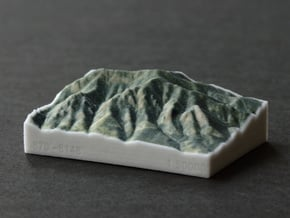 Flatirons, Colorado, USA, 1:50000 in Full Color Sandstone