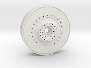 E-100 inner wheel in White Natural Versatile Plastic