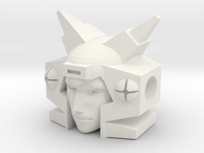 Elita One 1.6cm head with no ball joint socket in White Natural Versatile Plastic