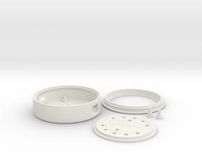Circuit Playground Light Pipe in White Natural Versatile Plastic