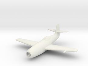 Yakovlev Yak-23 'Flora' in White Natural Versatile Plastic: 1:200