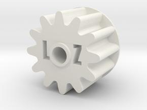 Rapidstrike Gear2 (Steel or Nylon) in White Natural Versatile Plastic