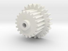 Hyperfire Gear1 (Nylon or Steel) in White Natural Versatile Plastic