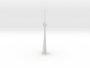 CN Tower (1:2000) in White Natural Versatile Plastic