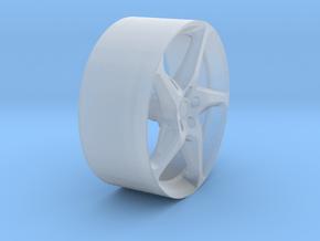 YCID B Ferarri Front in Smooth Fine Detail Plastic