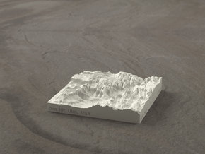 3'' Zion Canyon, Utah, USA, Sandstone in Natural Sandstone