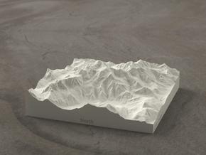 4''/10cm Mt. Blanc, France/Italy, Sandstone in Natural Sandstone
