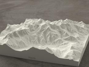 6''/15cm Mt. Blanc, France/Italy, Sandstone in Natural Sandstone