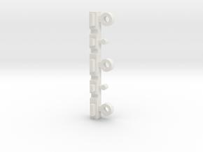 "Nanocopter ""Mini-Mavic"" - Charging adapter part 2 in White Natural Versatile Plastic"