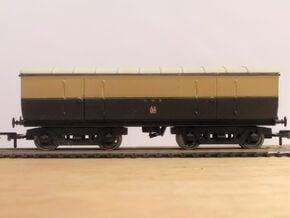 GWR Dia M17 Bullion Van Part 2 (Body) in Smooth Fine Detail Plastic